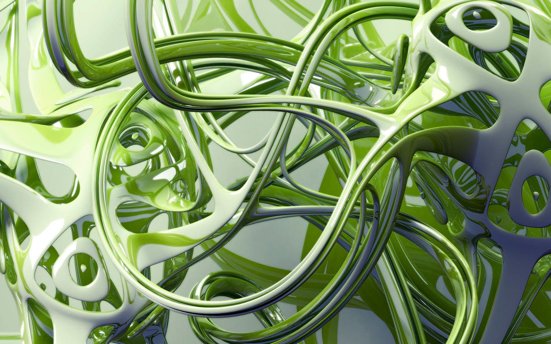 CGI - Abstract  3D Digital CGI Wallpaper