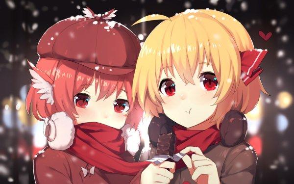 Anime Touhou Mystia Lorelei Rumia Yuri HD Wallpaper | Background Image