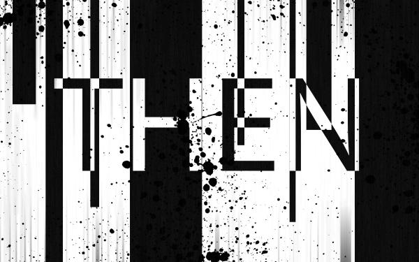 Misc Word Black White Glitch HD Wallpaper   Background Image