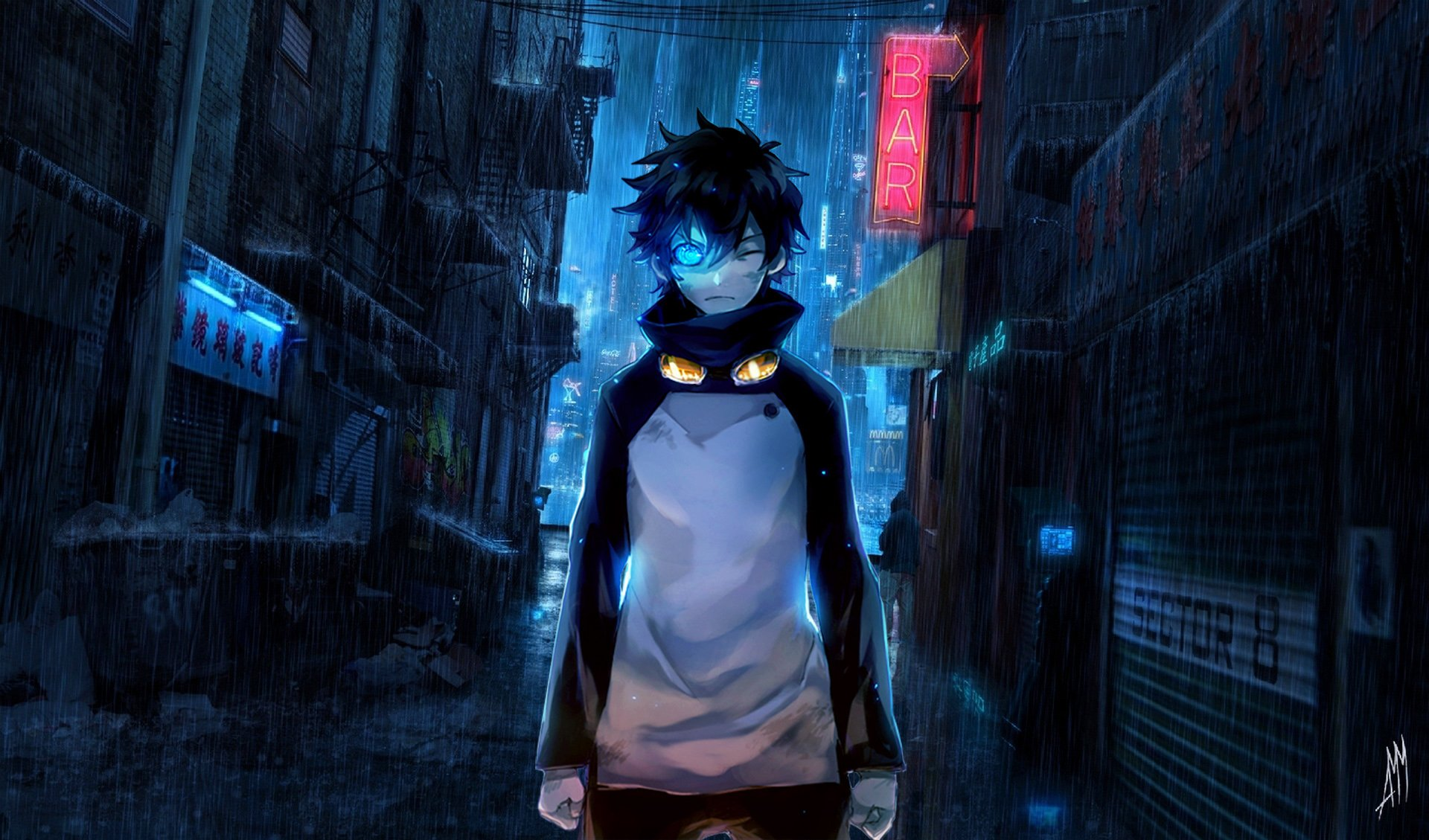 Anime - Blood Blockade Battlefront  City Anime Leonardo Watch Wallpaper