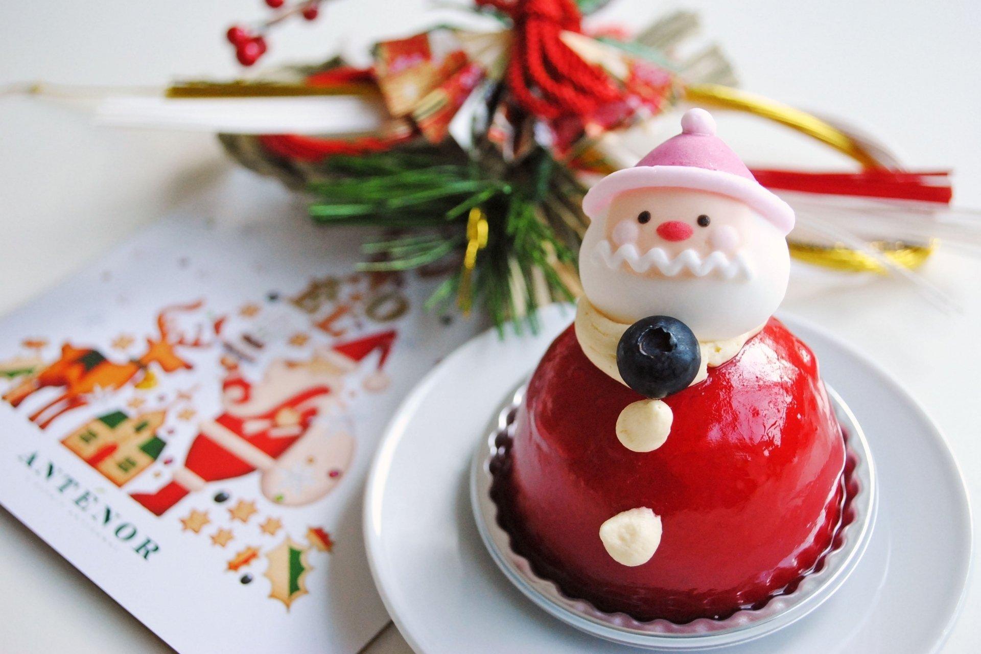Food - Cake  Santa Claus Christmas Wallpaper