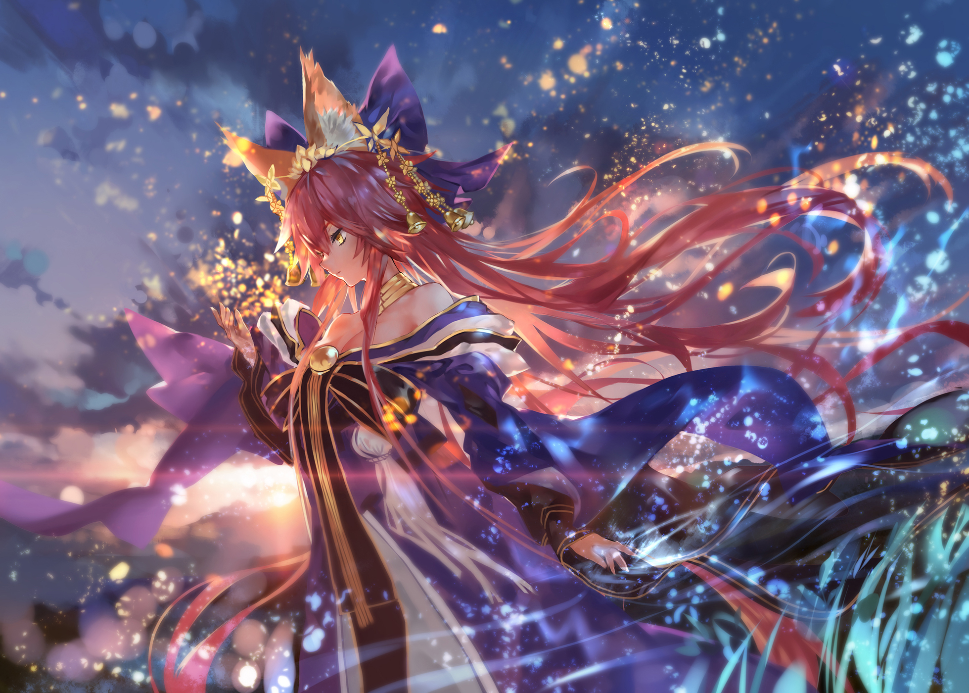 38 Tamamo No Mae Fate Grand Order Hd Wallpapers Background