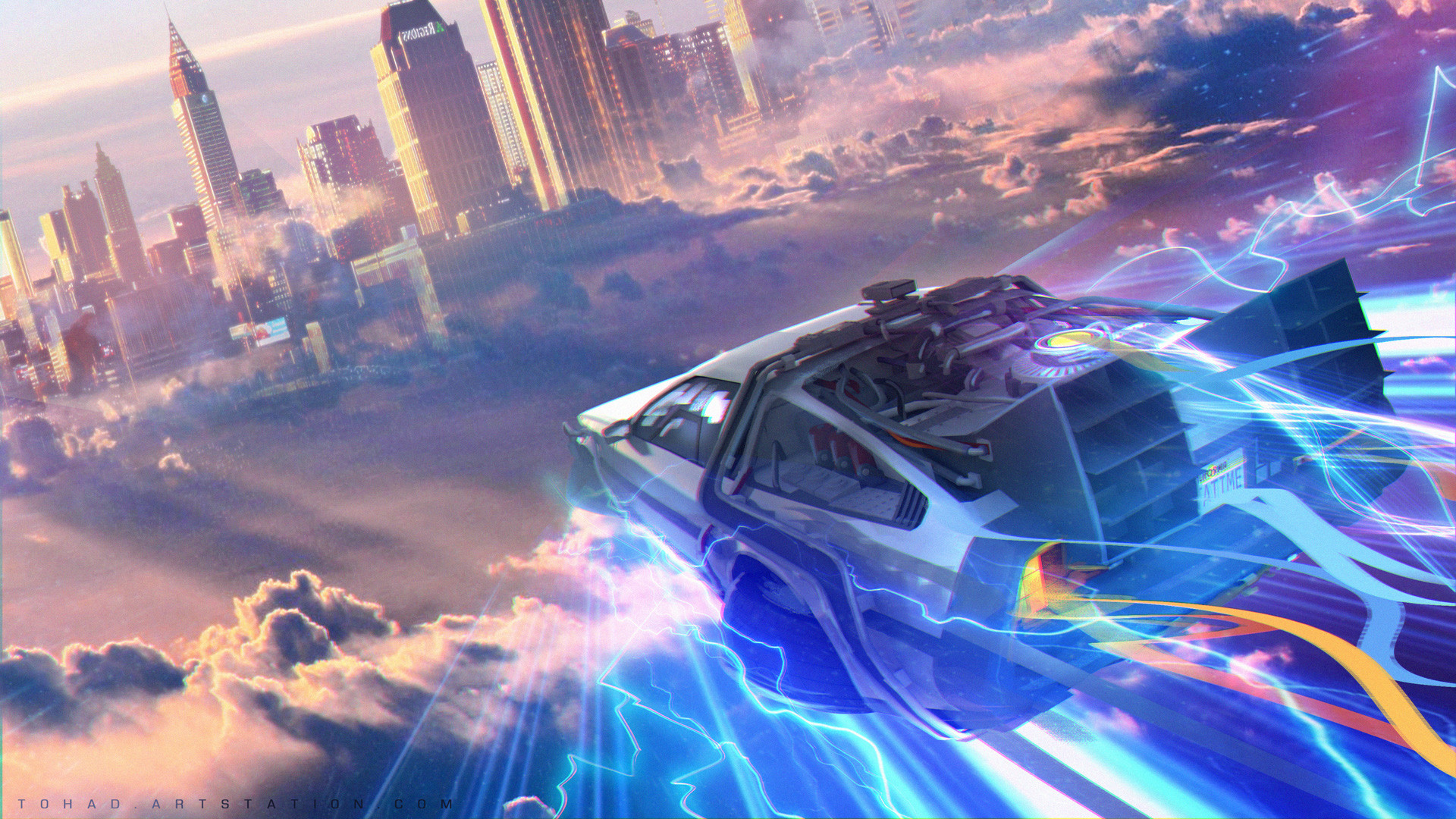 Back To The Future Hd Wallpaper Background Image 1920x1080