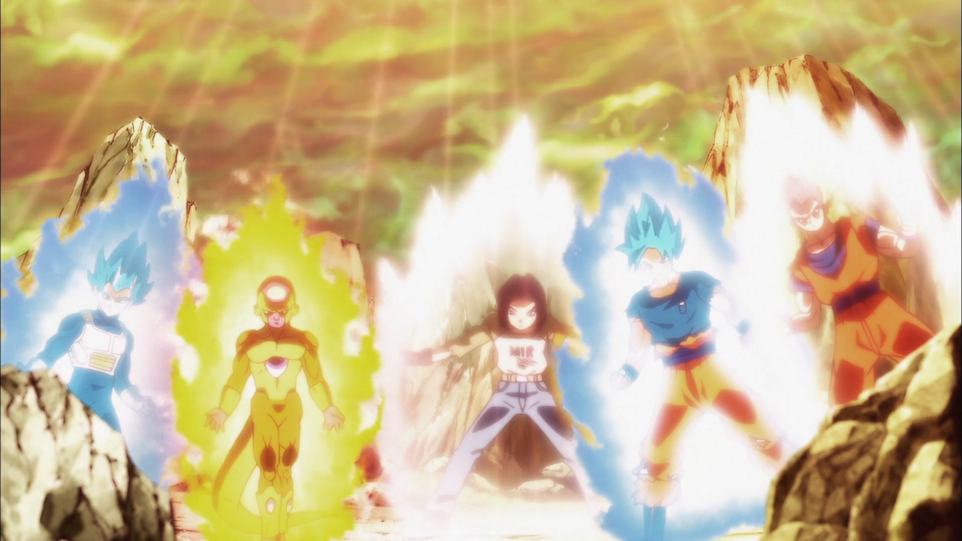 Goku And Vegeta Full Hd Fondo De Pantalla And Fondo De: Vegeta, Freezer, Gôku, C-17 And Gohan Fondo De Pantalla