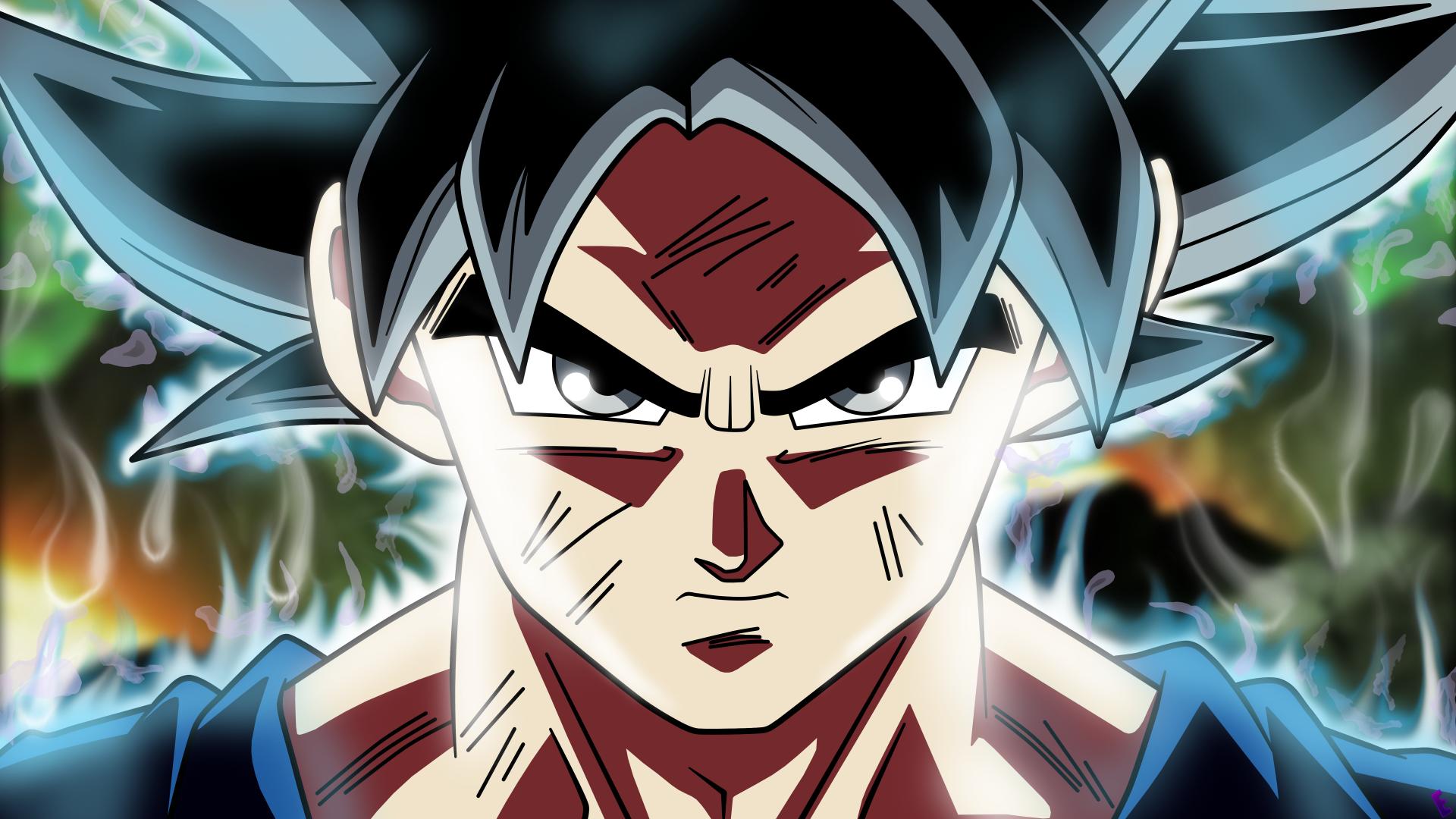 Goku Ultra Instinto Fondos De Pantalla Wallpaper: Goku Ultra Instinto 5k Retina Ultra Fondo De Pantalla HD