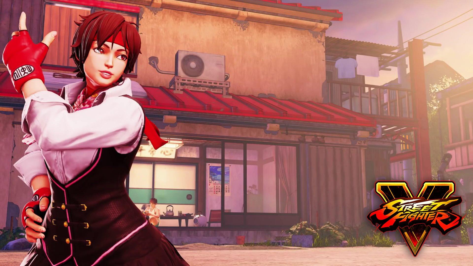 Video Game - Street Fighter V  Sakura Kasugano Wallpaper