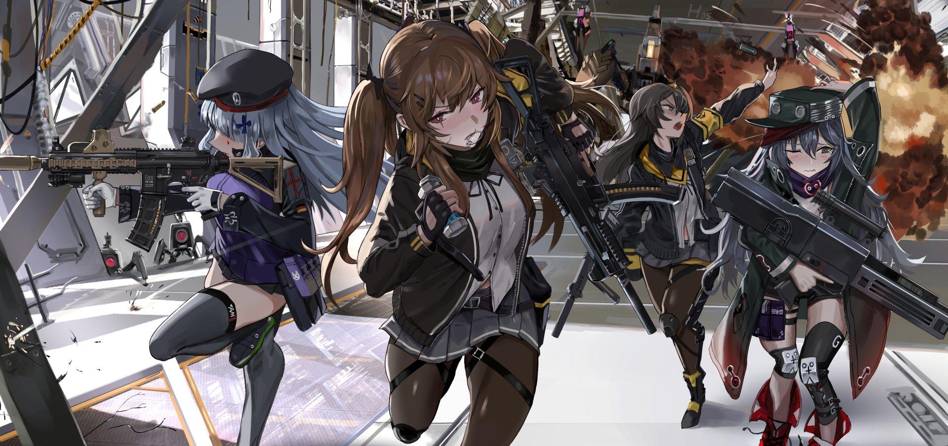 少女-动漫著作权案例表情包侵权前线G11(GirlsFrontline)UMP9(G图片