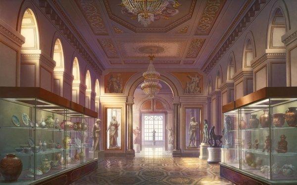 Anime Original Museum HD Wallpaper | Background Image