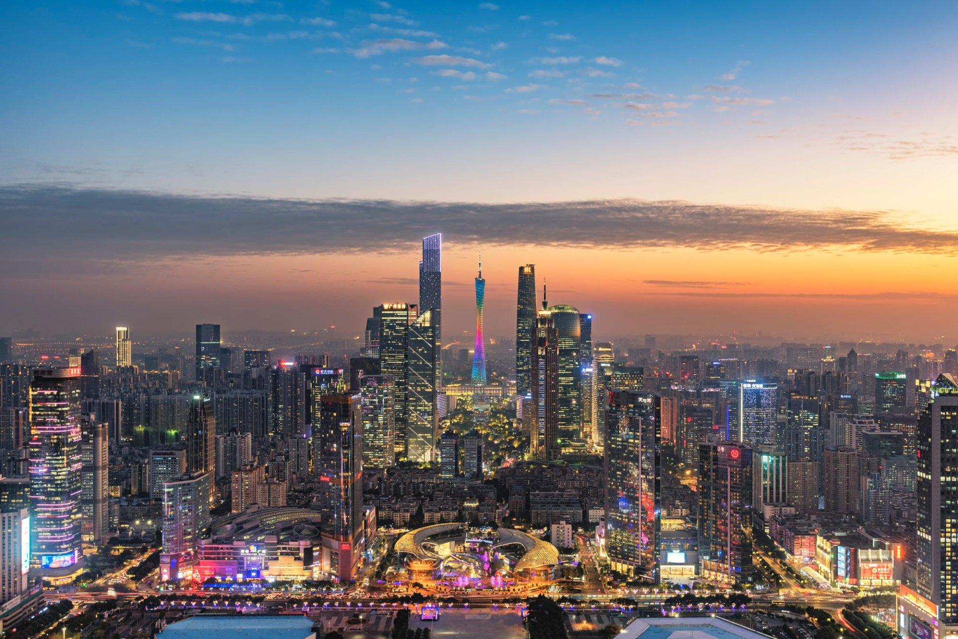 Man Made - Guangzhou  Canton Tower China City Wallpaper
