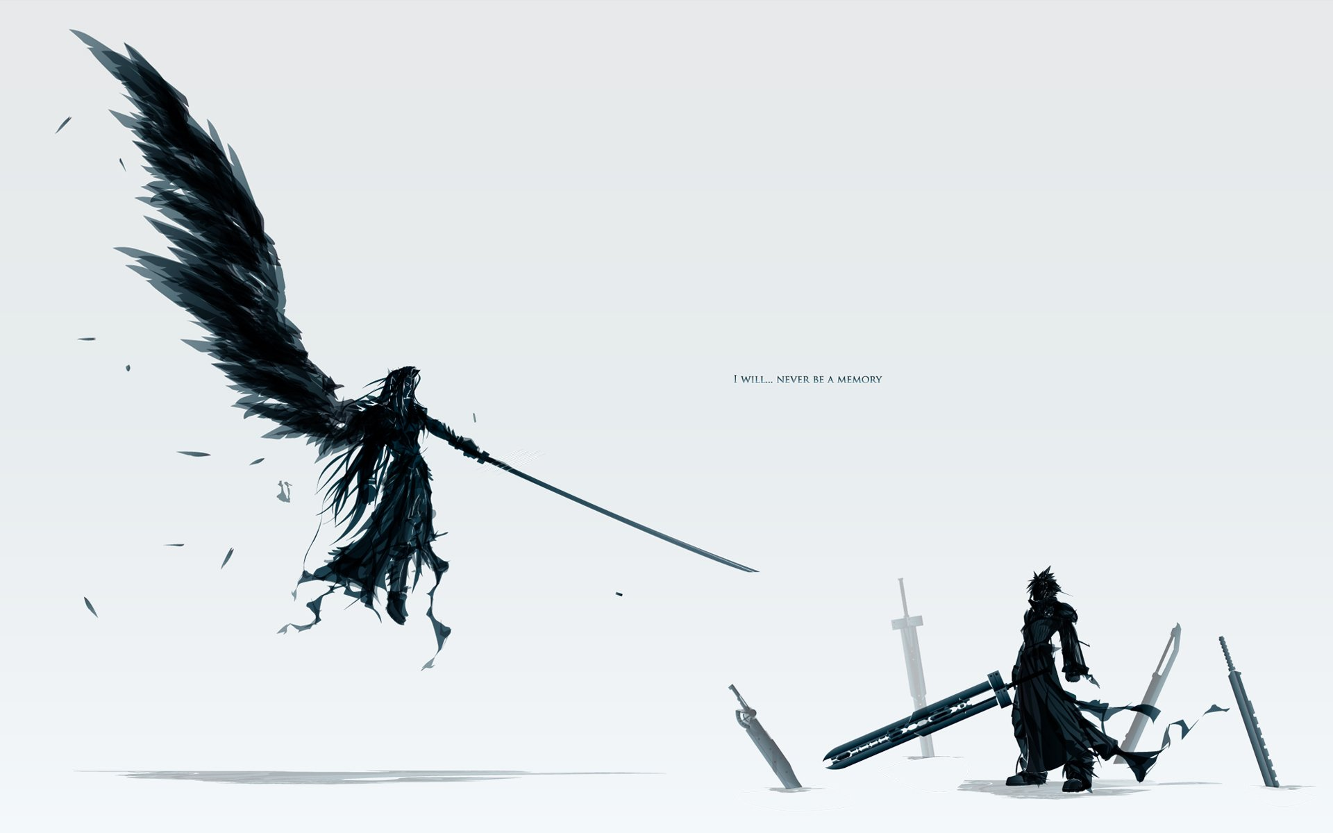 Videospel - Final Fantasy  Zwaard Sephiroth (Final Fantasy) Ronnie Ff7 Cloud Strife Devil Wallpaper