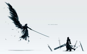 76 Final Fantasy Vii Advent Children Hd Wallpapers Background
