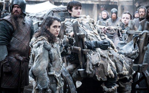 TV Show Game Of Thrones Bran Stark Meera Reed Isaac Hempstead-Wright HD Wallpaper | Background Image