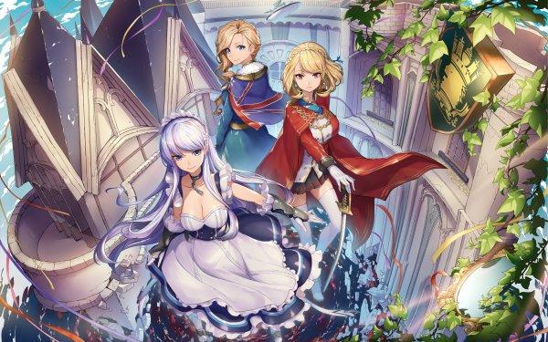 Anime Azur Lane Belfast Hood Prince of Wales White Hair Blonde HD Wallpaper | Background Image