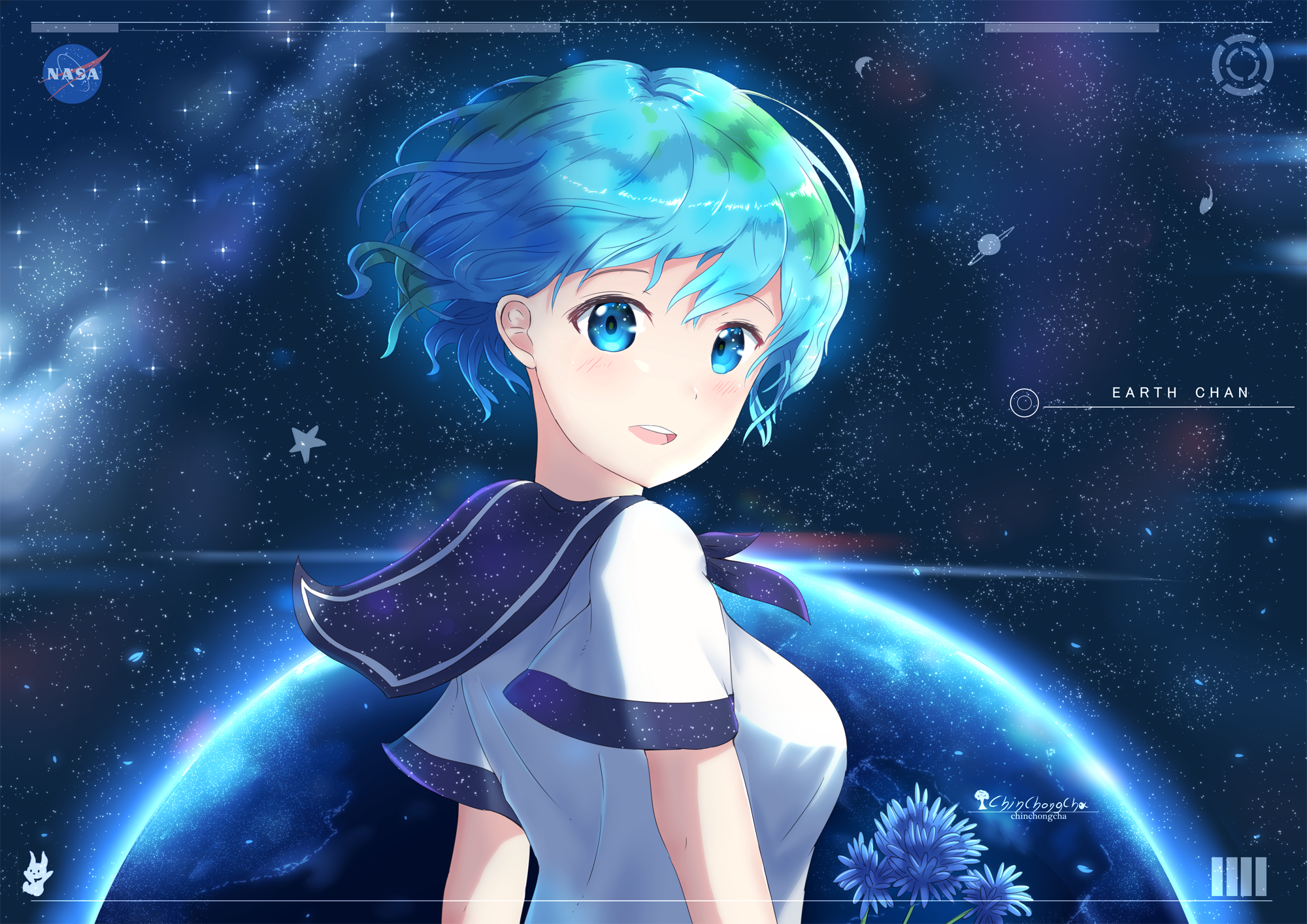 9 Earth Chan HD Wallpapers