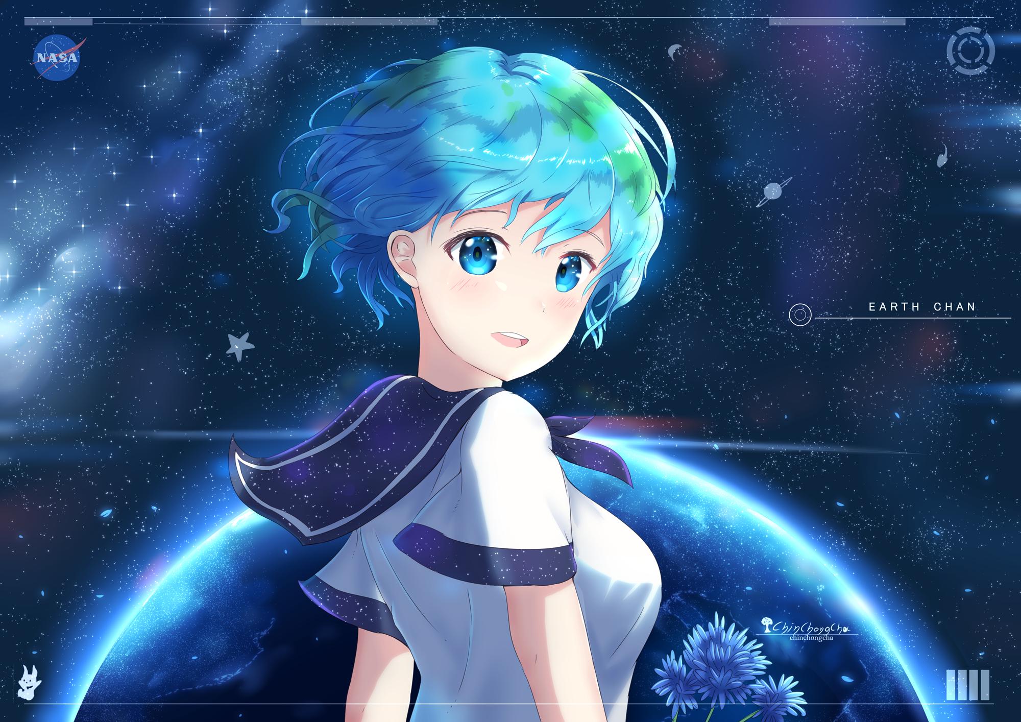 Hd Wallpaper Background Image Id X Anime Earth Chan