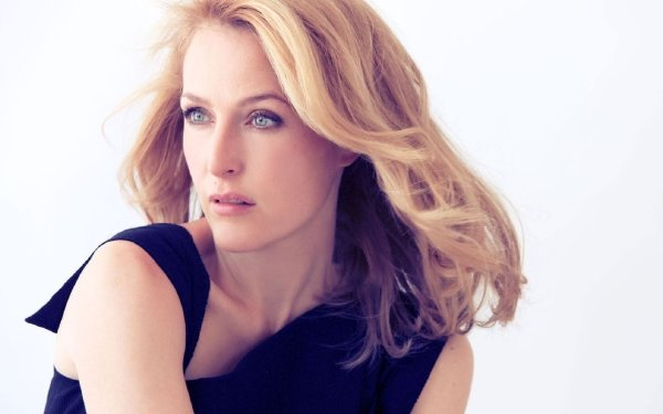 Celebrity Gillian Anderson Actresses United States Actress Blonde HD Wallpaper | Background Image