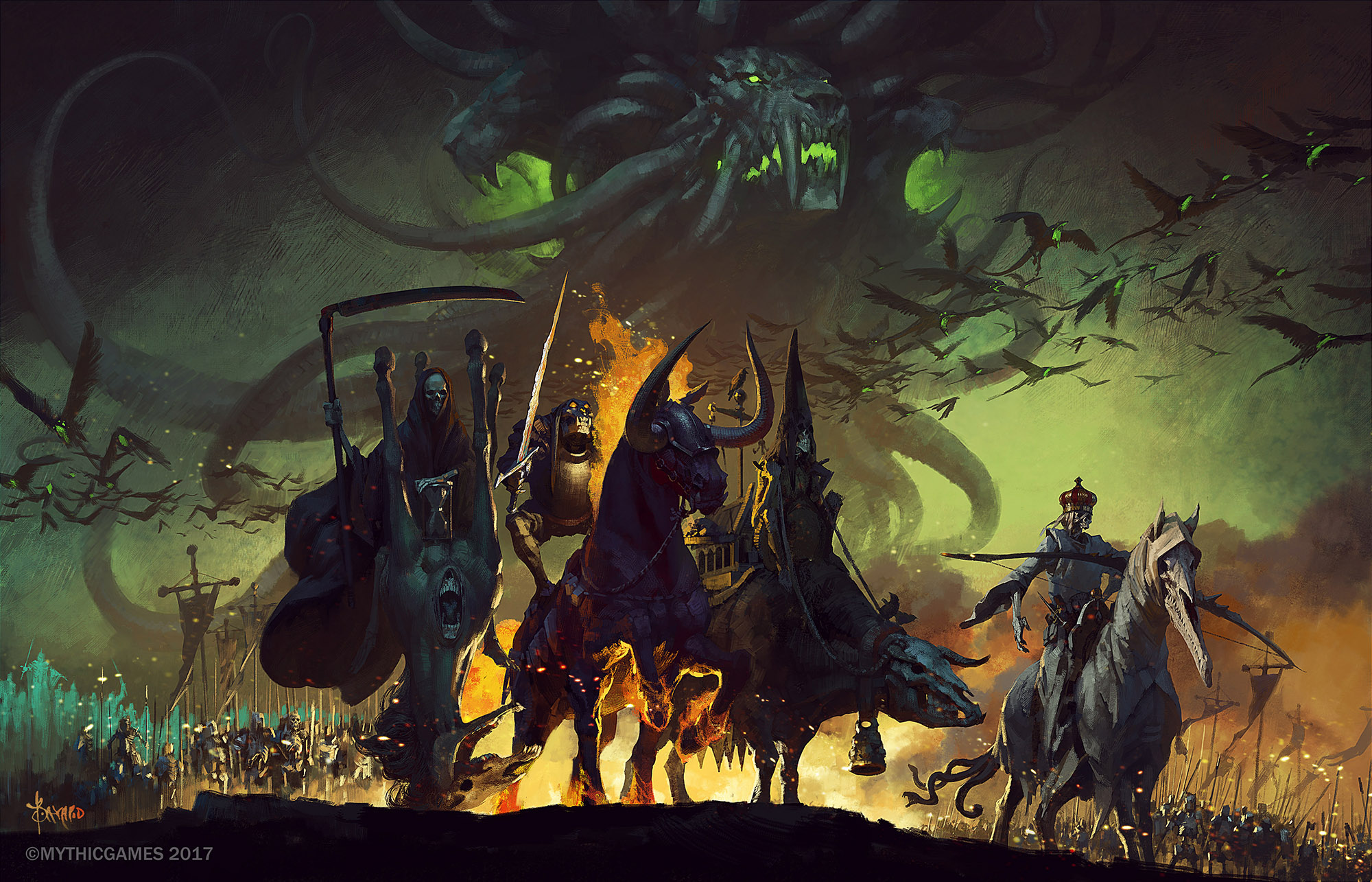 9 Four Horsemen Of The Apocalypse Hd Wallpapers Background