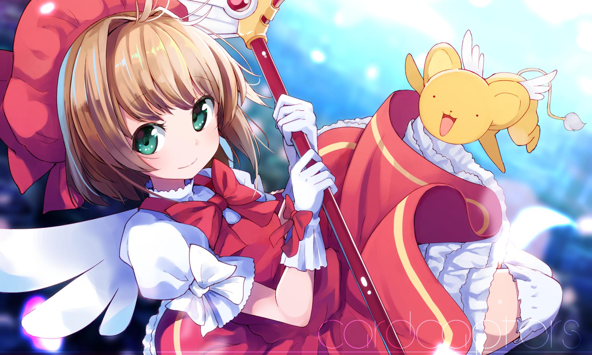 动漫 - 魔卡少女樱  Sakura Kinomoto Keroberos (Card Captor Sakura) 壁纸