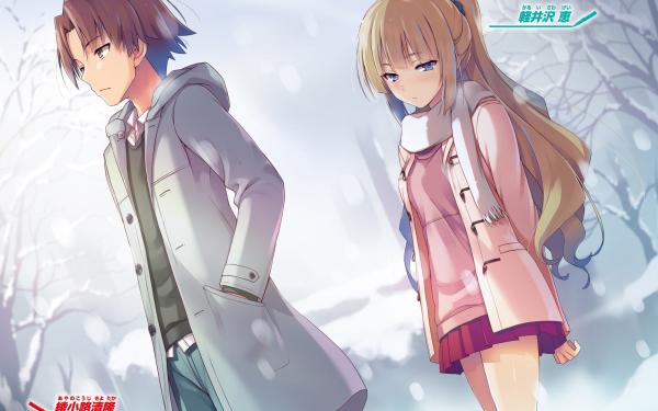 Anime Classroom of the Elite Kei Karuizawa Kiyotaka Ayanokōji HD Wallpaper | Background Image
