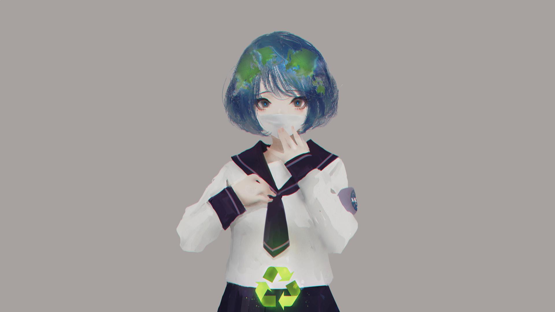 Earth Chan Fondo De Pantalla Hd Fondo De Escritorio