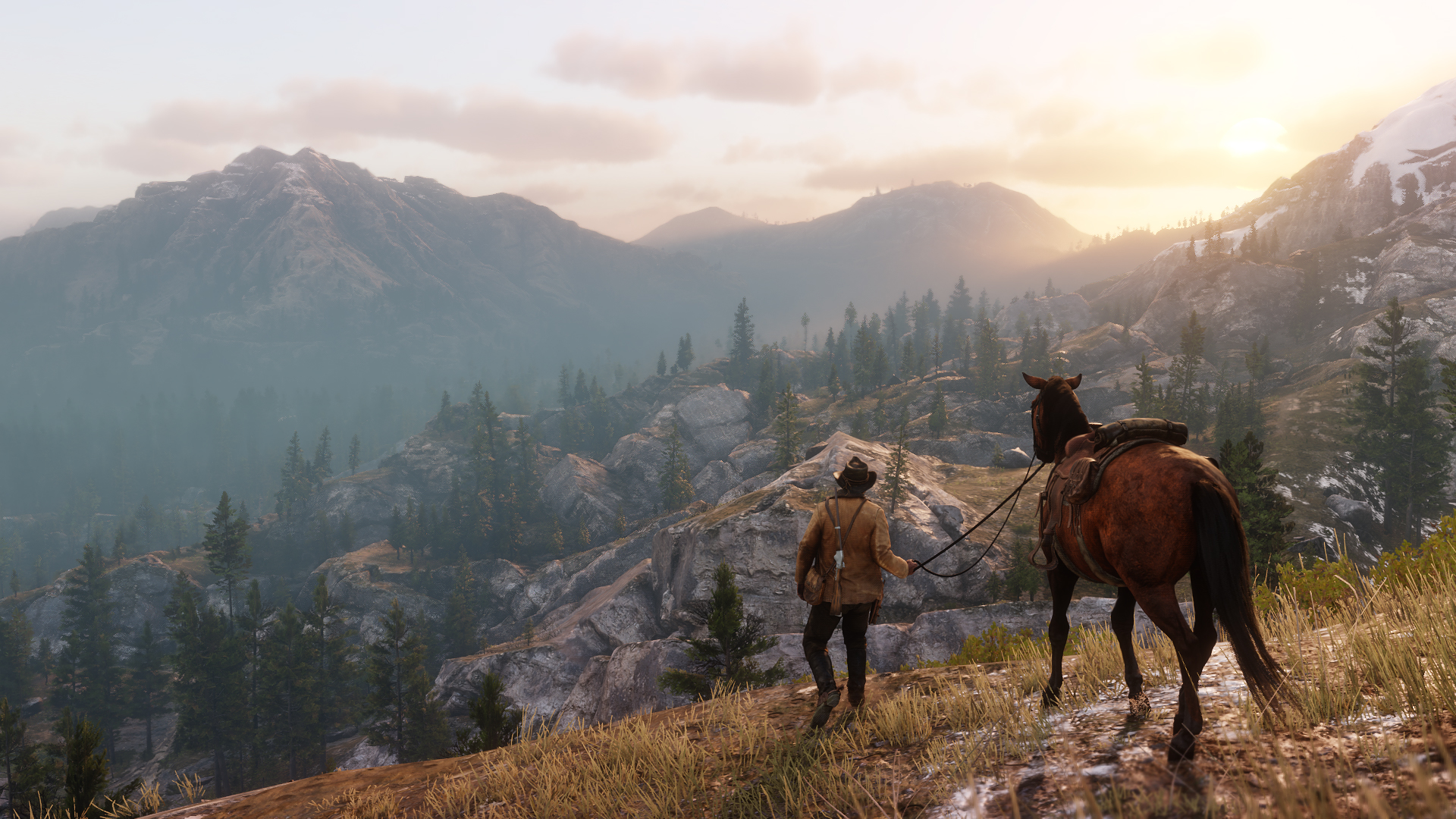 RDR2's open world was meant to take in every detail.