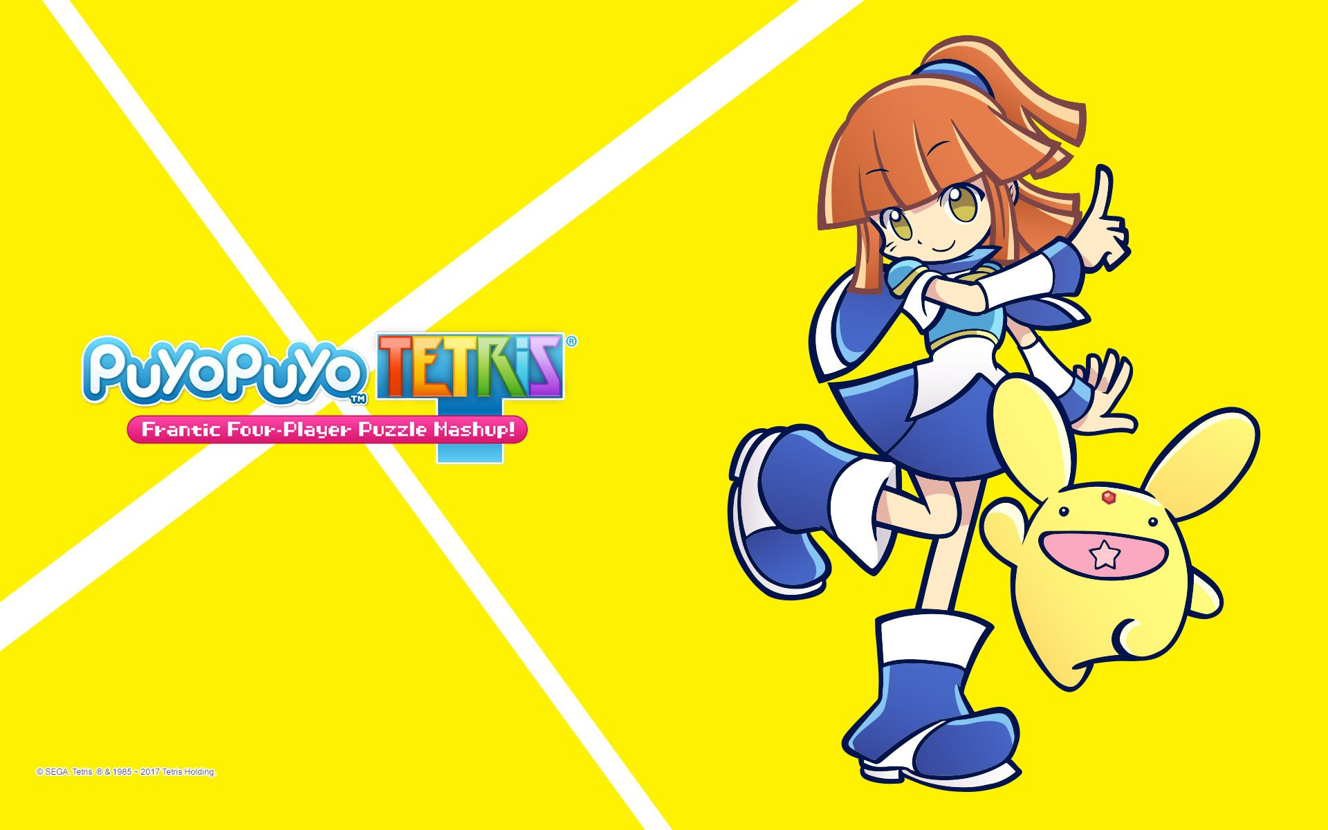 Video Game - Puyo Puyo Tetris  Wallpaper