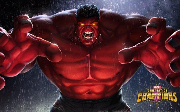 Videojuego MARVEL Batalla de Superhéroes Red Hulk Fondo de pantalla HD   Fondo de Escritorio