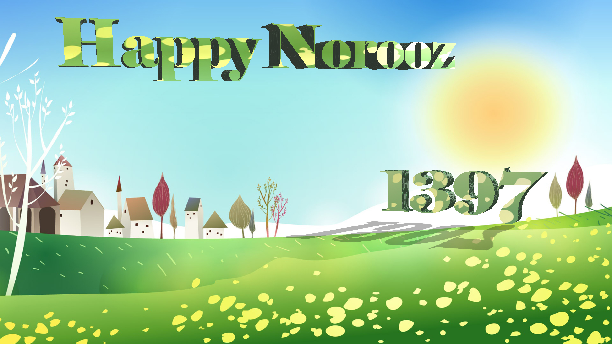 Norooz HD Wallpaper | Background Image | 2560x1440 | ID ...