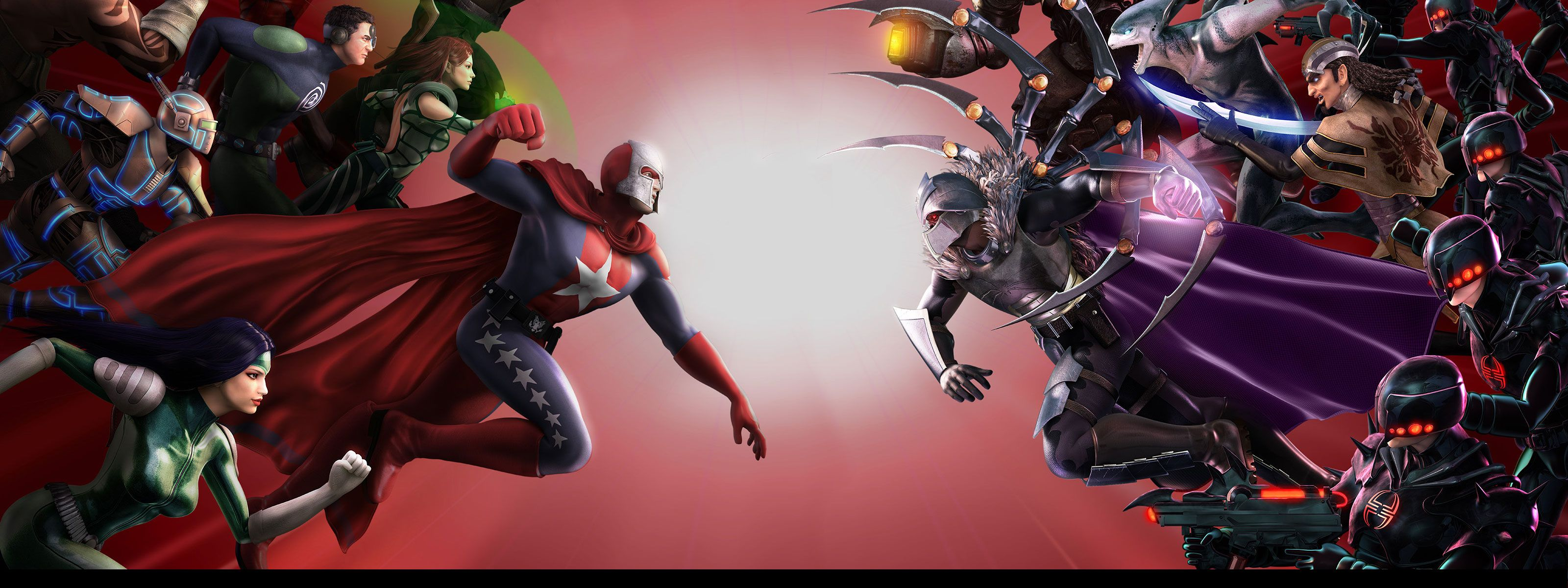 City Of Heroes HD Wallpaper   Background Image   3200x1200 ...