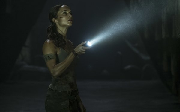 Film Tomb Raider (2018) Alicia Vikander Lara Croft Fond d'écran HD   Arrière-Plan