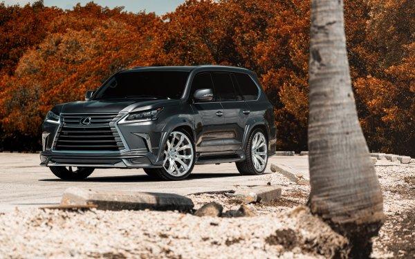 Véhicules Lexus LX Lexus Voiture SUV Luxury Car Fond d'écran HD | Arrière-Plan