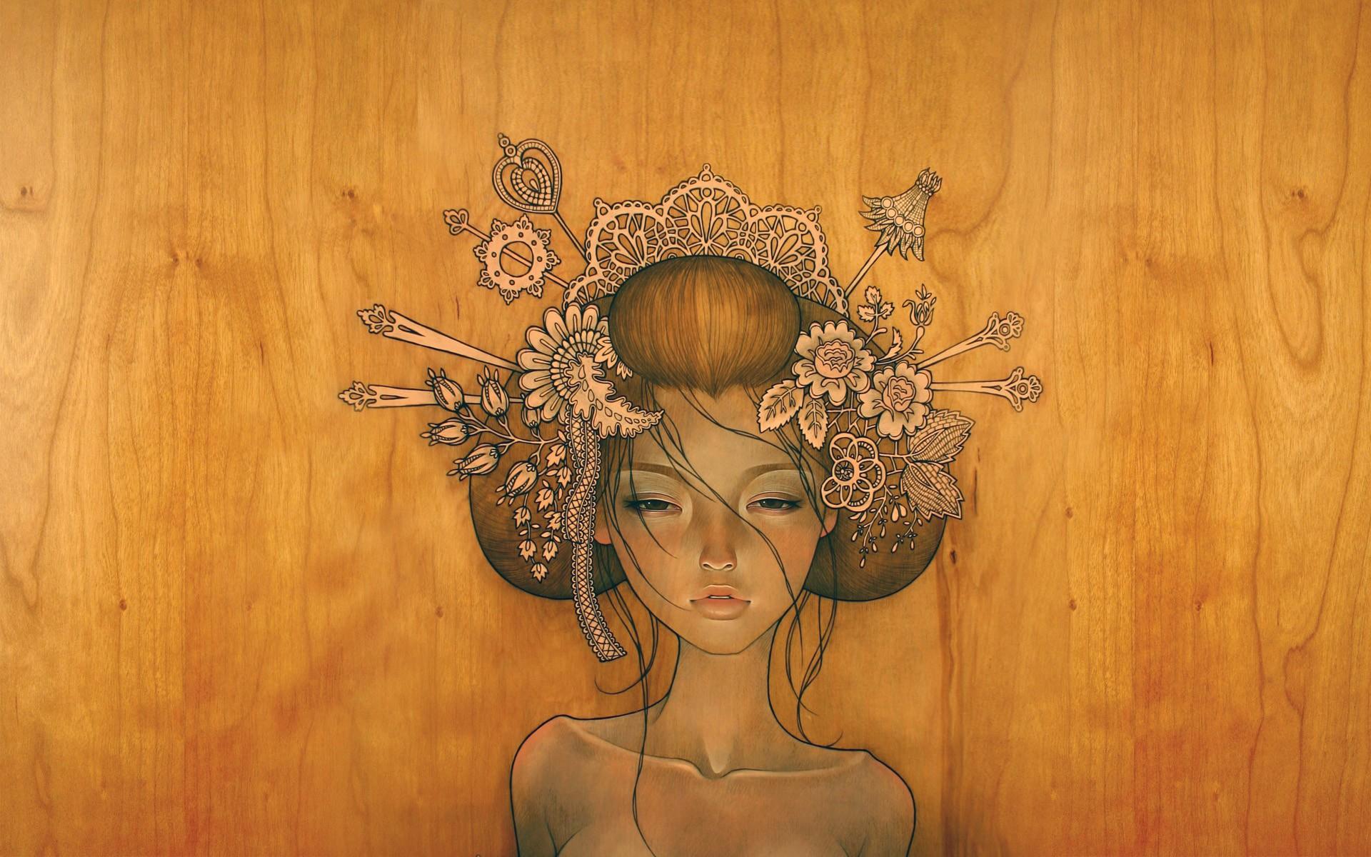 Artistic - Women  Wallpaper