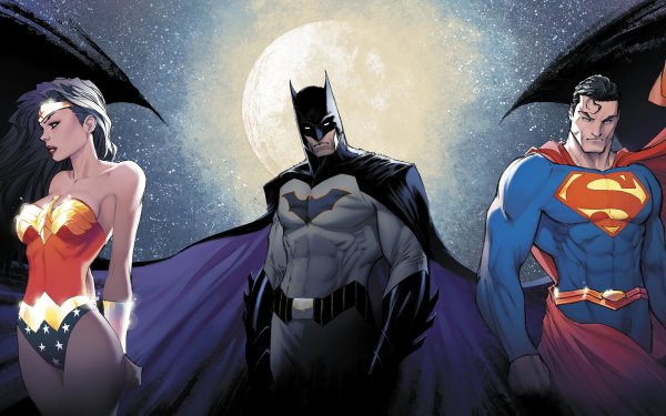 Comics Justice League DC Comics Batman Wonder Woman Superman Diana Prince Clark Kent HD Wallpaper | Background Image