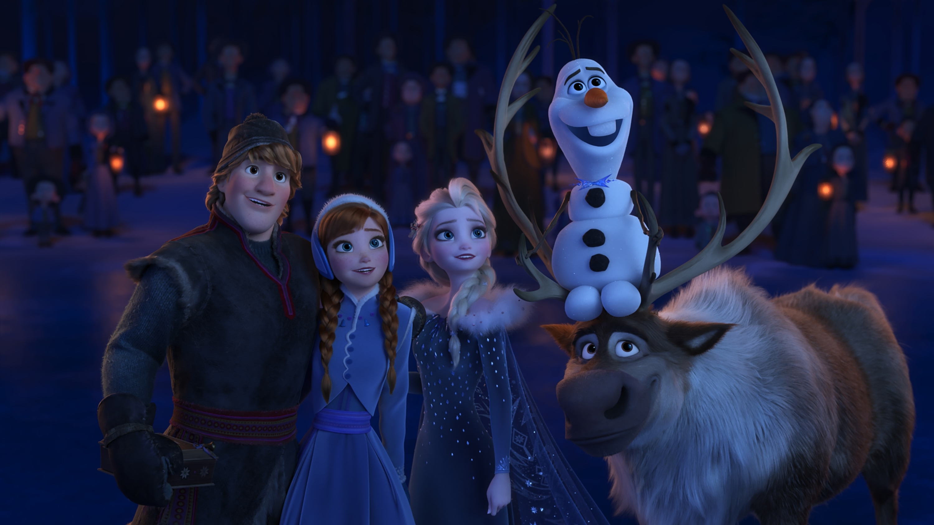 Olafs Frozen Adventure Full HD Wallpaper And Background Image