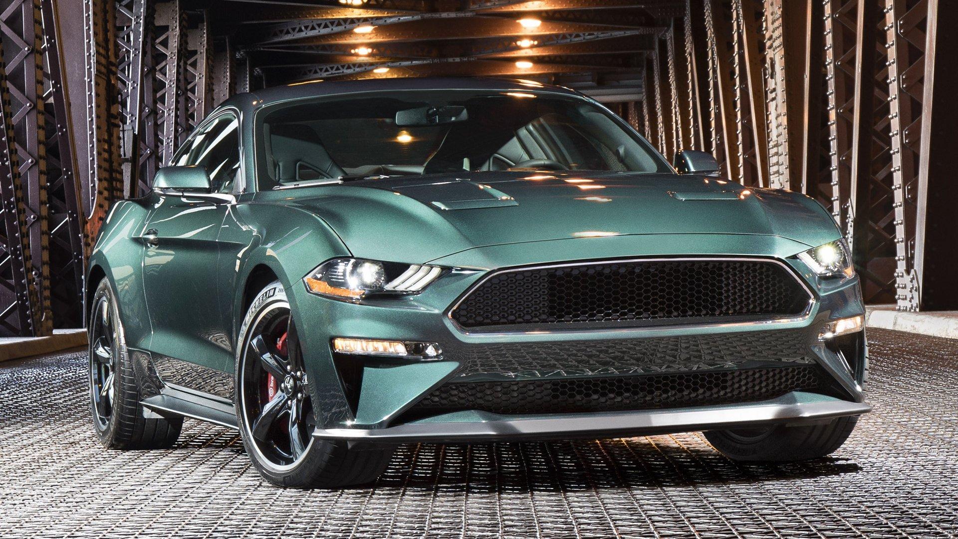 2019 Ford Mustang Bullitt HD Wallpaper | Background Image ...