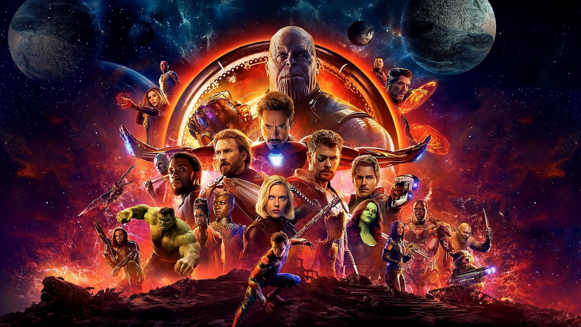110 4K Ultra HD Avengers: Infinity War Wallpapers