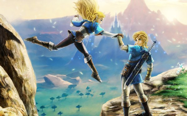 Video Game The Legend of Zelda: Breath of the Wild Zelda The Legend of Zelda Link HD Wallpaper   Background Image