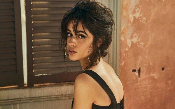 Music Camila Cabello Singers United States Singer Latina Brown Eyes Brunette Earrings HD Wallpaper | Background Image