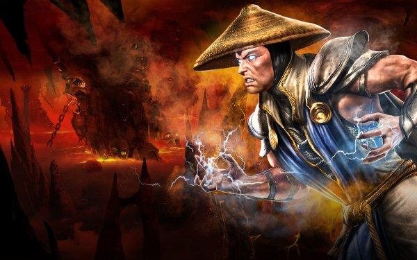 Video Game Mortal Kombat Vs. DC Universe Mortal Kombat Raiden HD Wallpaper | Background Image