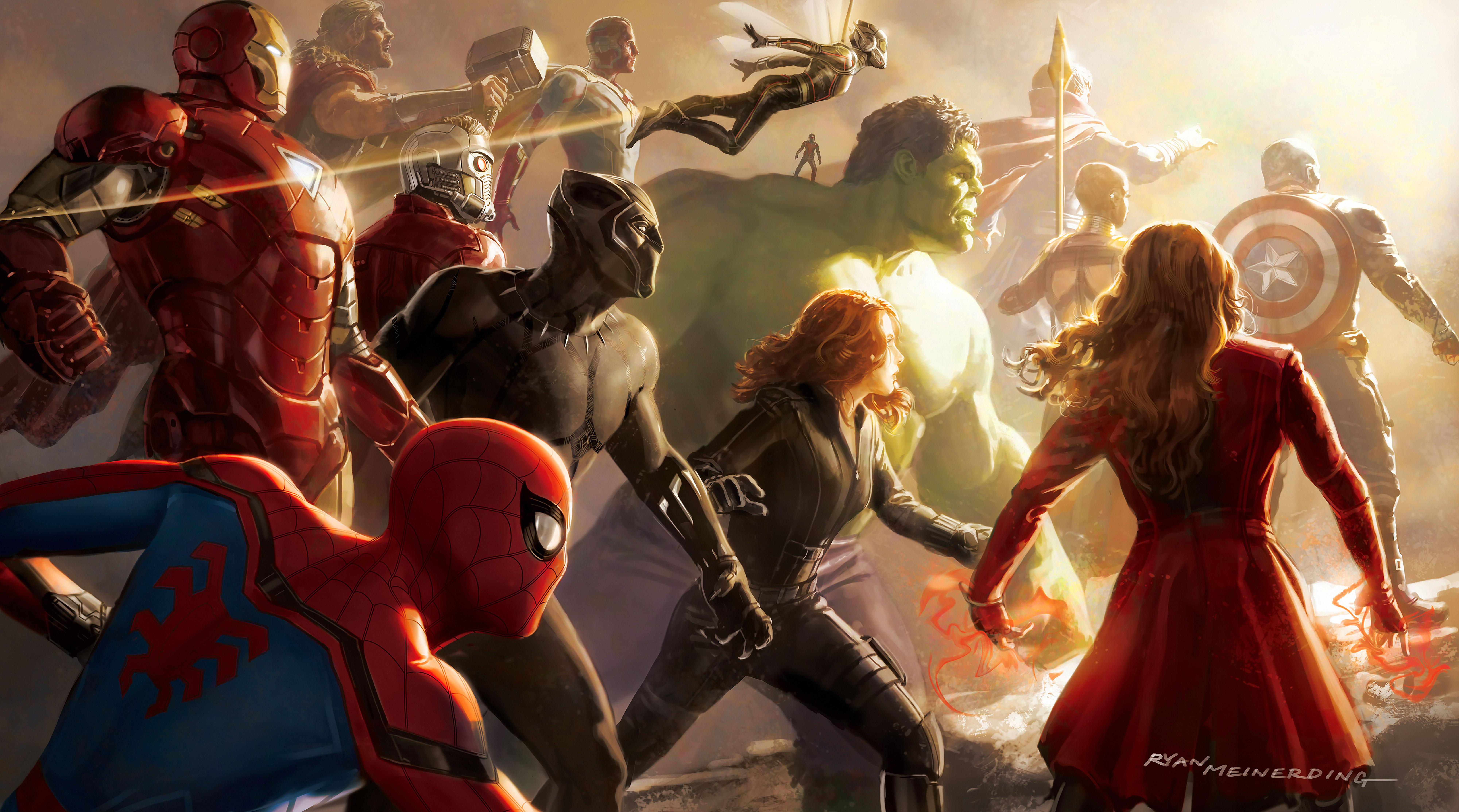 Avengers Infinity War 8k Ultra Hd Wallpaper Background Image