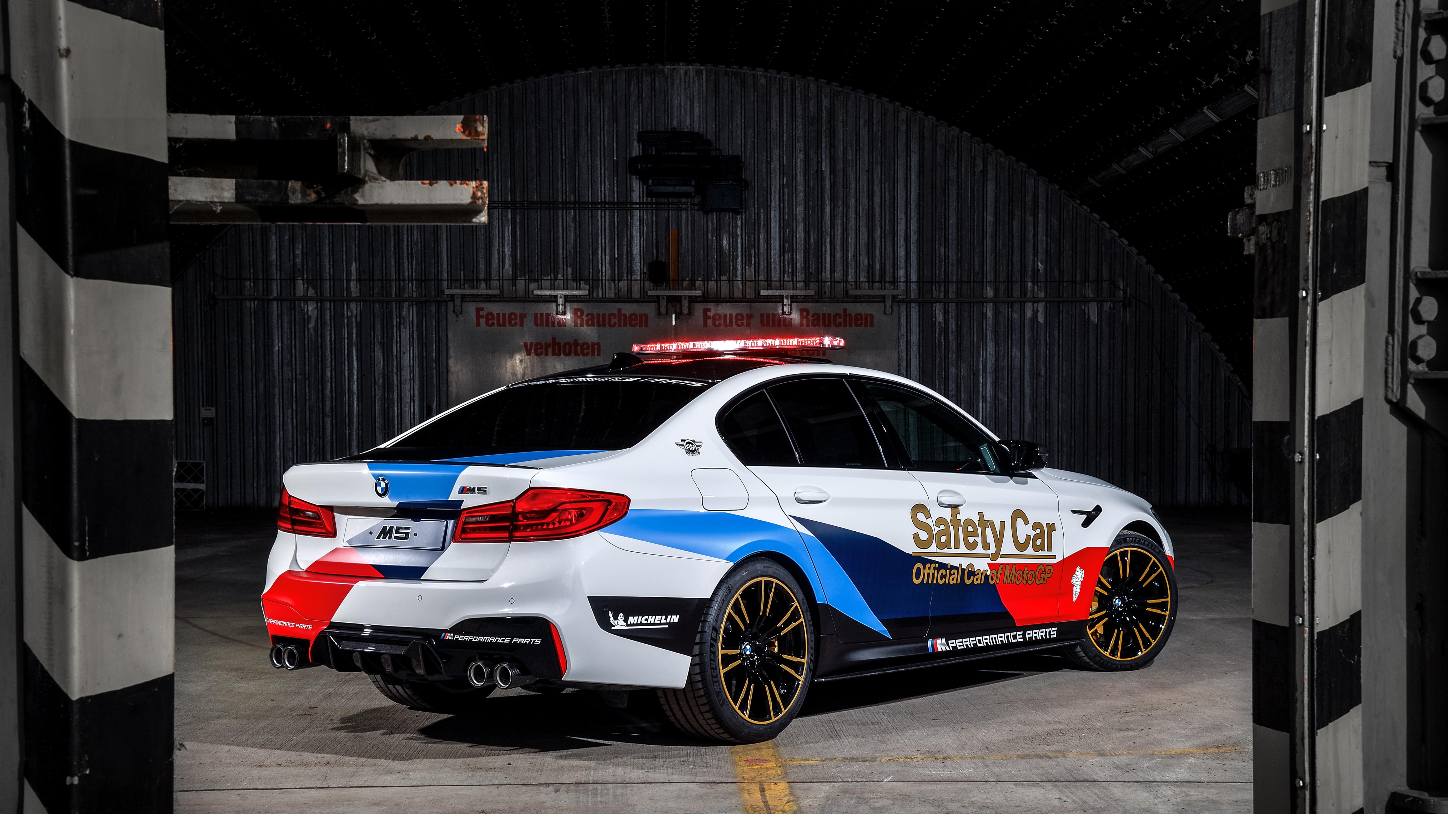2018 Bmw M5 Motogp Safety Car 4k Ultra Hd Wallpaper Background Image 5504x3096
