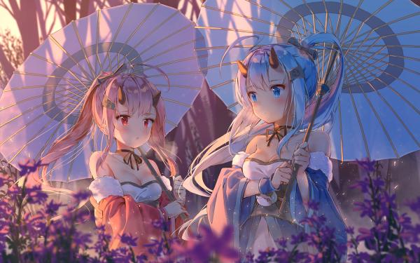 Anime Azur Lane Ikazuchi Inazuma HD Wallpaper | Background Image