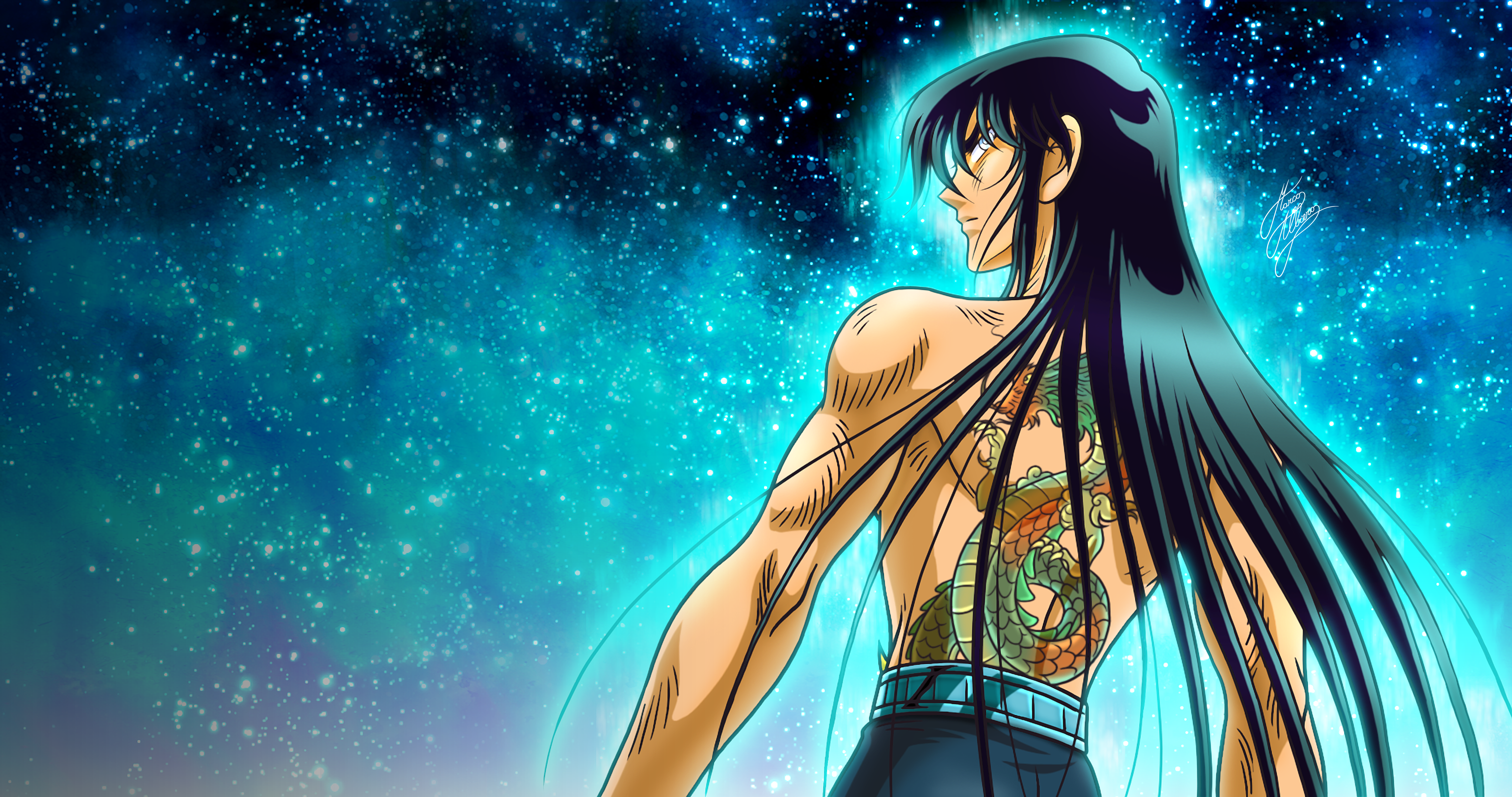 Saint Seiya Gigantomachia Dragon Shiryu 4k Ultra Papel De