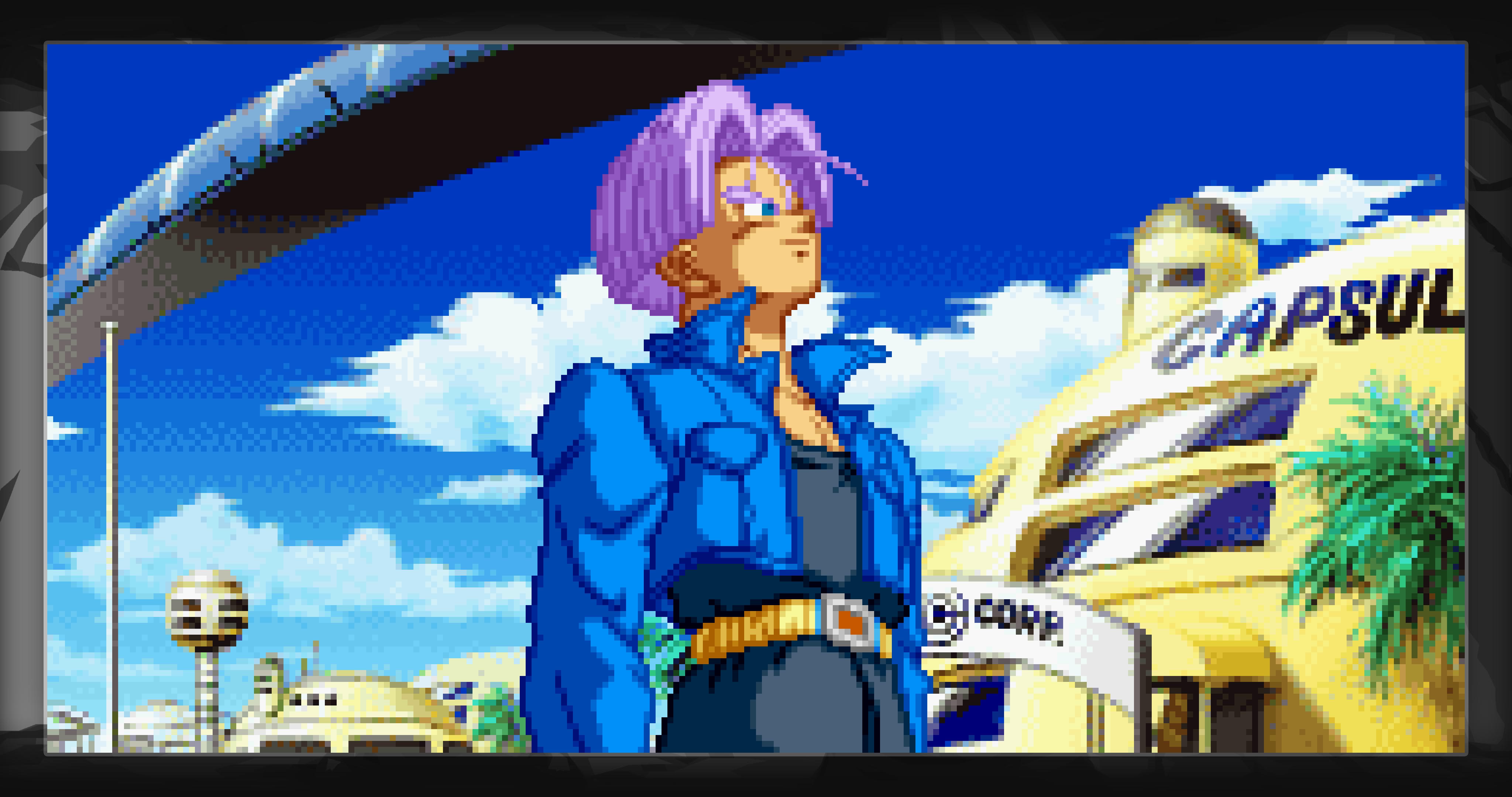 Dragon Ball Z Supersonic Warriors Future Trunks 4k
