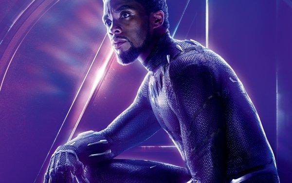 Film Avengers: Infinity War Avengers Black Panther Chadwick Boseman Fond d'écran HD | Arrière-Plan