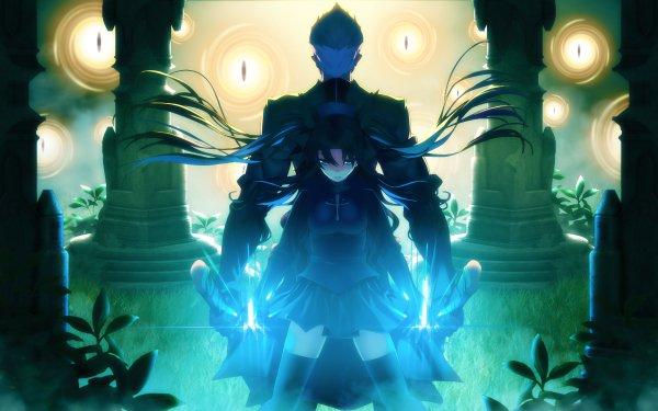 Anime Fate/Stay Night: Unlimited Blade Works Fate Series Rin Tohsaka Shirou Emiya HD Wallpaper | Background Image