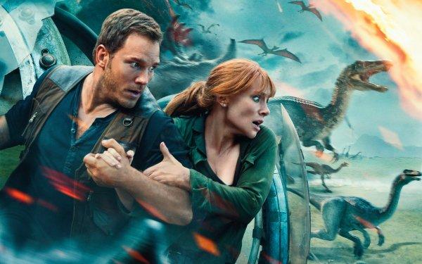Movie Jurassic World: Fallen Kingdom Jurassic Park Chris Pratt Bryce Dallas Howard HD Wallpaper | Background Image