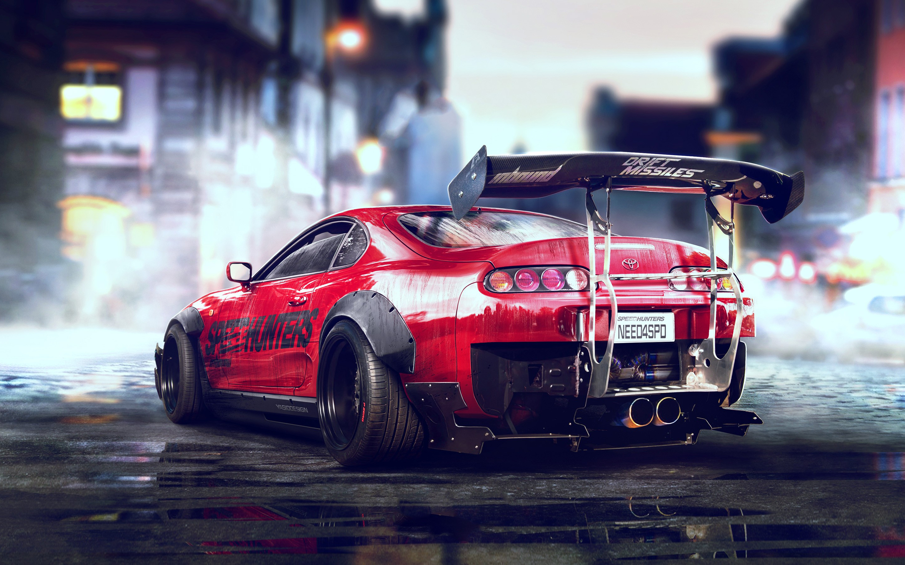 toyota supra - need for speed full hd wallpaper and background image