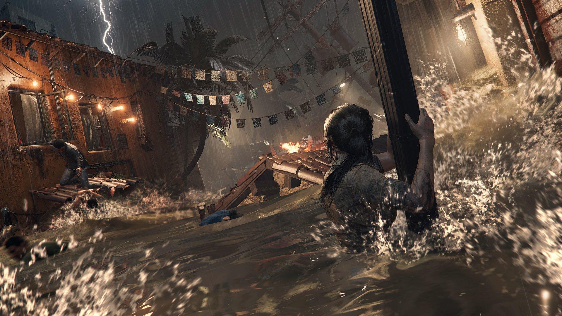 Video Game - Shadow of the Tomb Raider Lara Croft Wallpaper