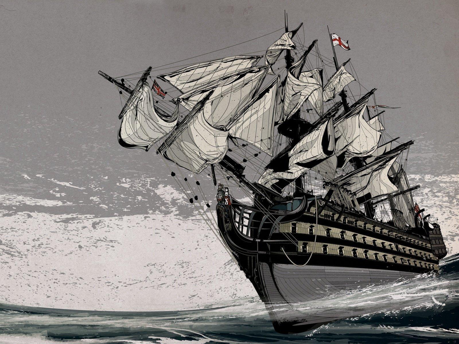 Military - Ship  Wallpaper